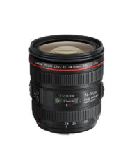 The Canon EF 24-70 f/4 L IS USM Lens for Canon EOS DSLR Cameras available at CameraPro Colombo Sri Lanka