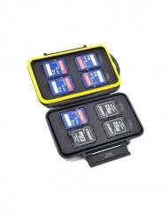 Waterproof 8 Slot SD Memory Card Holder Case available at CameraPro Colombo Sri Lanka