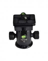 "Tefoto T3 Professional Aluminum Alloy 3/8"" Ball Head available for sale at CameraPro Colombo Sri Lanka"