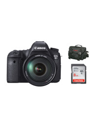 Canon EOS 6D 24-105 + Sandisk 8GB Class 10 40MBs SD Card + Regular Side Bag Bundle Promotional Offer available at CameraPro Colombo Sri Lanka