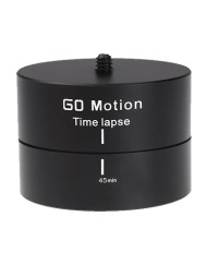 360°Panoramic Rotating Time Lapse Tripod Adapter for Canon Nikon Sony DSLR Cameras iPhones Mobiles Smartphones GoPro Action Cameras and is available at CameraPro Colombo Sri Lanka