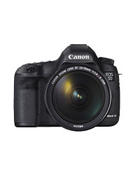 The Canon EOS 5D Mark III DSLR Camera with the Canon EF 24-70 F4L IS USM kit lens is available at CameraPro Colombo Sri Lanka