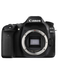 Canon EOS 80D DSLR Camera body only with 15 months warranty and is available at CameraPro Colombo Sri Lanka