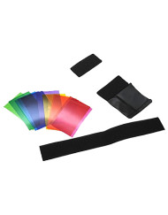 The 12 Colour Flash Diffuser Gel for Speedlites is available at CameraPro Colombo Sri lanka