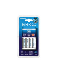 Eneloop 10 Hour Charger with 4 AA Rechargeable Batteries (2100mAH) available at CameraPro Colombo Sri Lanka