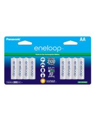 8 X Eneloop AA Rechargeable Batteries (2100mAH)