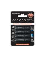 4 X Eneloop Pro AA Rechargeable Batteries (2500mAH) available at CameraPro Colombo Sri Lanka