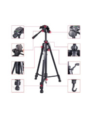 Weifeng 3560 Aluminium Tripod for Canon Nikon Sony Panesonic DSLR Cameras available for sale at CameraPro Colombo Sri Lanka