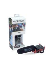 The Rode VideoMic with Rycote Lyre Suspension System for professional dslr and cine camcorder videography is available for sale at CameraPro Colombo Sri Lanka