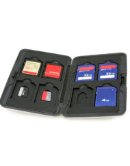 Waterproof 16 Slot SD Micro SD Memory Card Holder for SD SDHC memory cards available at CameraPro Colombo Sri Lanka