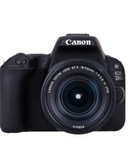 Canon EOS 200D DLSR Camera & the Canon EF S 18-55 IS STM kit lens with 15 months warranty is available at CameraPro Colombo Sri Lanka